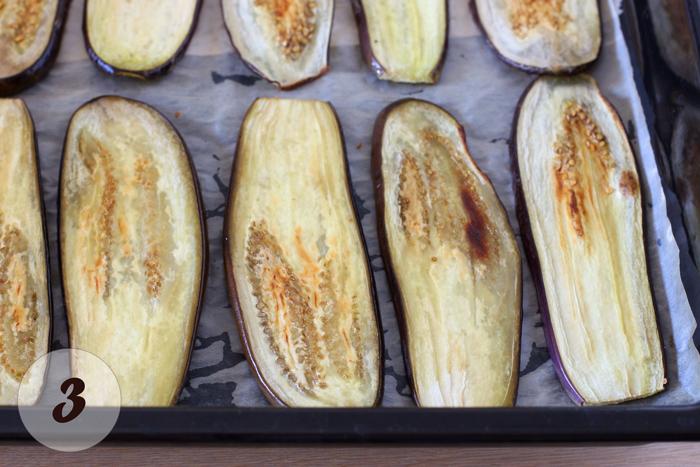 Баклажаны с орехами,пошаговый рецепт, шаг 3