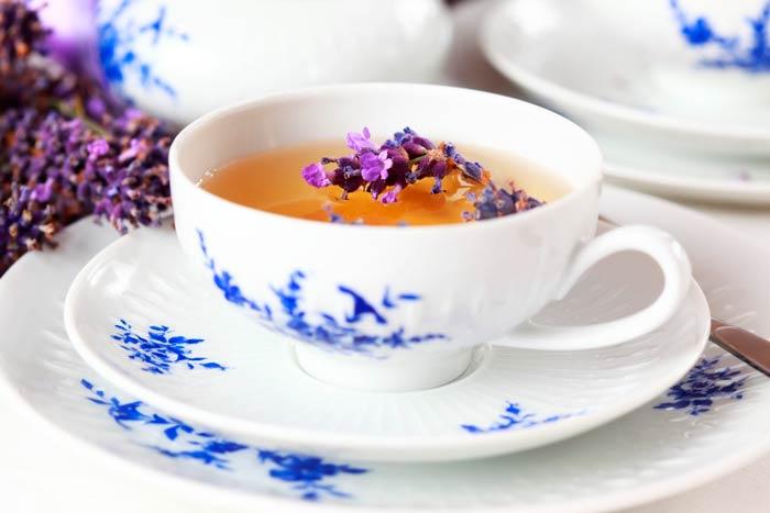Рецепт лавандового чая