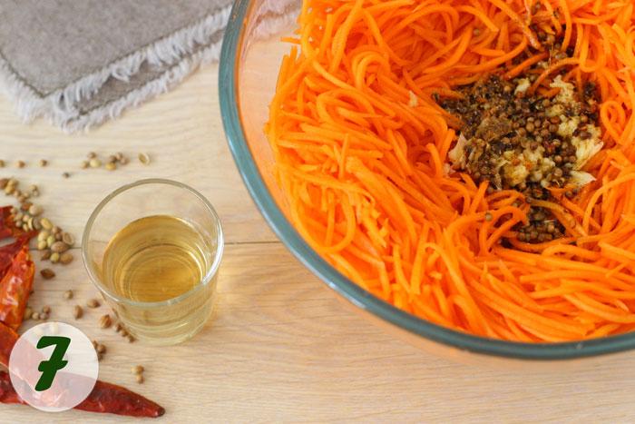 Специи для моркови по-корейски