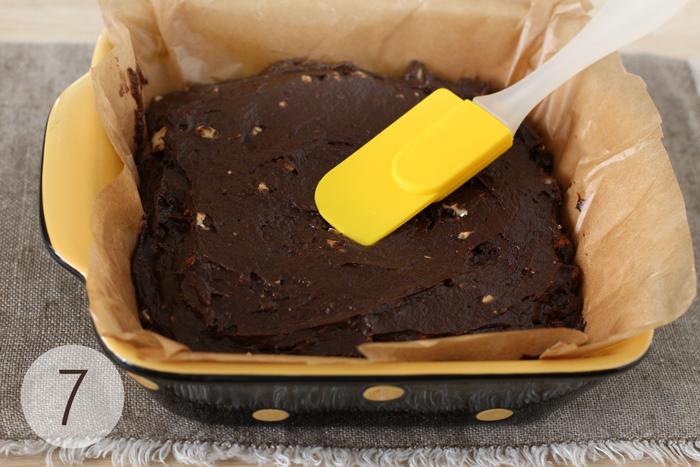 Домашний торт Брауни, шаг 7