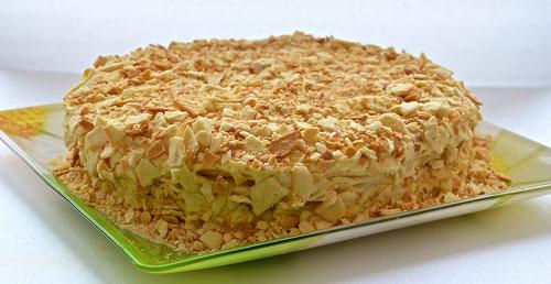 рецепт торт наполеон видео рецепт с фото
