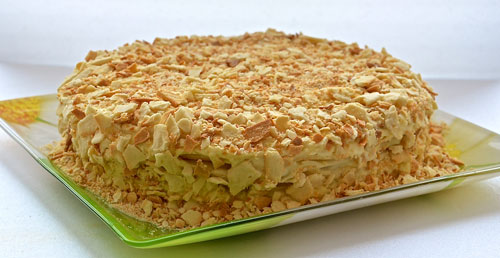 Торт наполеон рецепт фотографии