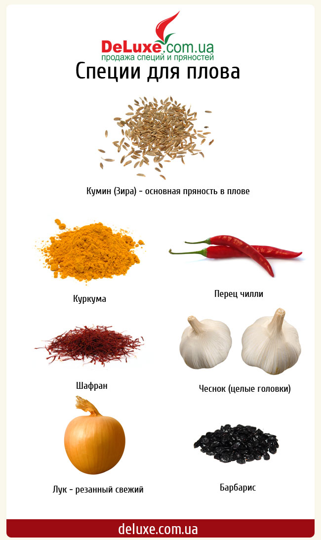 Разные специи для блюд