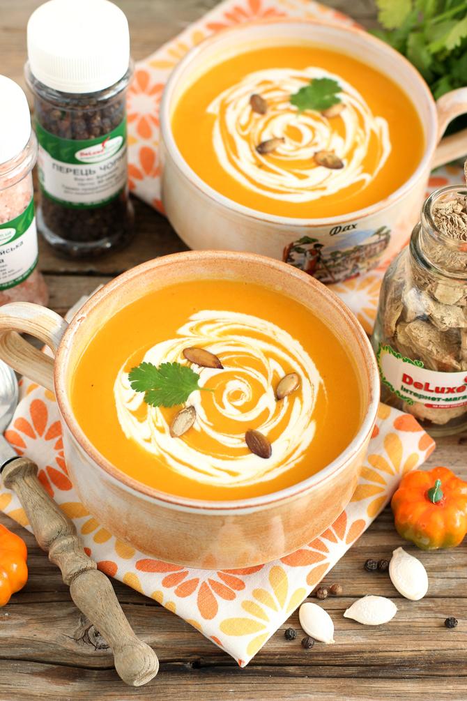 Суп пюре из тыквы рецепты пошагового приготовления в домашних условиях
