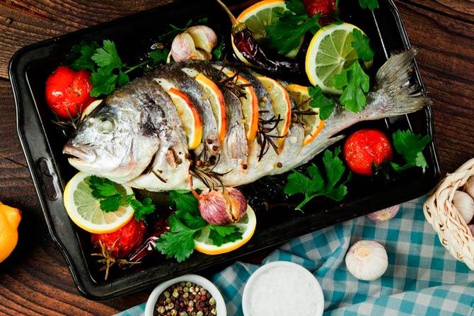 рецепты рыбы морепродуктов фото