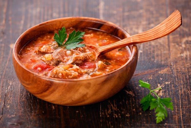 первые блюда кавказской кухни рецепты с фото